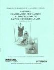 Faenado, elaboración de charque y conservación de la piel (cuero) de llama. Programa de Desarrollo de la Ganadería Camélida