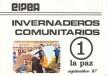 Invernaderos Comunitarios, Nº 1