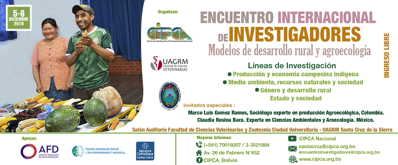 Encuentro Internacional de Investigadores