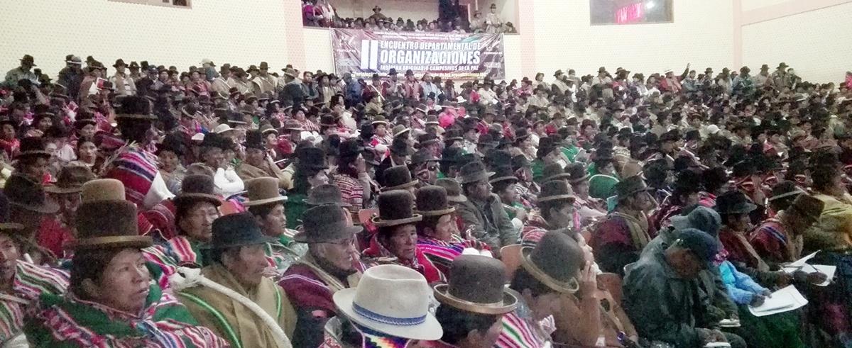 Dirigentes indígena originario campesinos de La Paz analizaron la vida orgánica de las organizaciones sociales