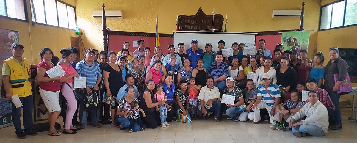 Alianza interinstitucional promueve la capacitación de productores y la instalación del primer centro de beneficiado de cacao en Baures