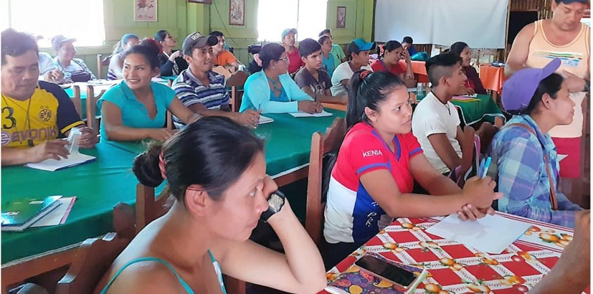 Organizaciones campesinas e indígenas del norte Amazónico de Bolivia se forman en nuevos liderazgos