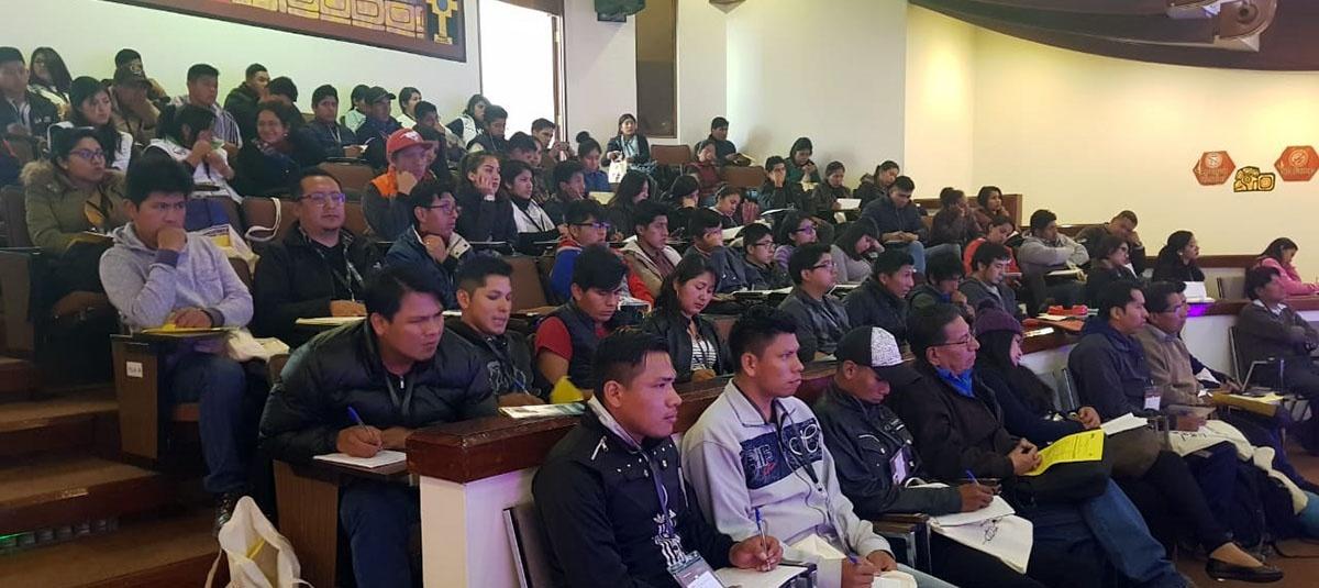 Jóvenes urbanos y rurales de todo el país concertan  y construyen la agenda de la juventud boliviana con miras a las elecciones generales del 20 de octubre