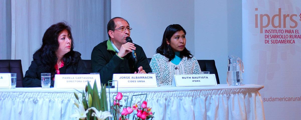 Foro Nacional plantea los temas prioritarios para el desarrollo rural