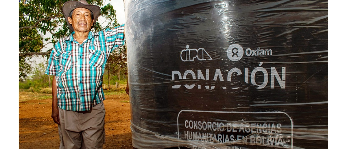 CIPCA Y OXFAM entregan ayuda humanitaria a comunidades afectadas por incendios y sequía en la Chiquitania