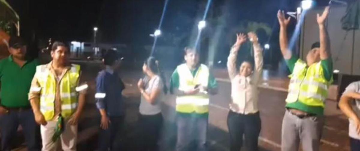 Llueve en San Ignacio, uno de los municipios más afectados por los incendios en la Chiquitania