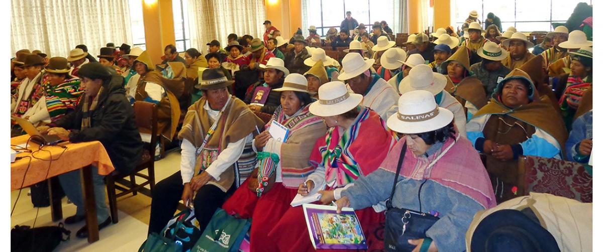 Autoridades originarias definen estrategias para la consolidación las autonomías originarias en el departamento de Oruro