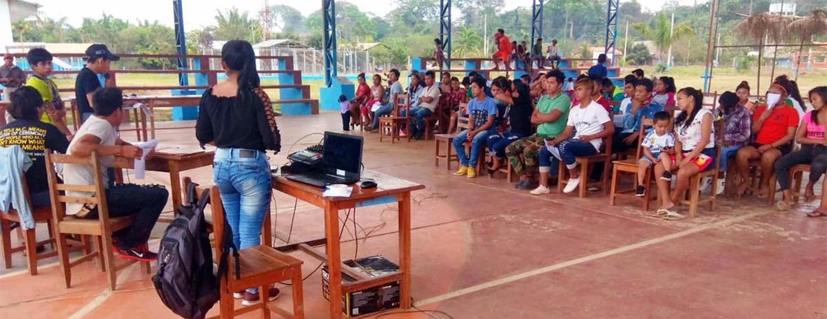 Jóvenes indígenas de Pando conforman su organización representativa y piden unidad para defender la biodiversidad de Bolivia