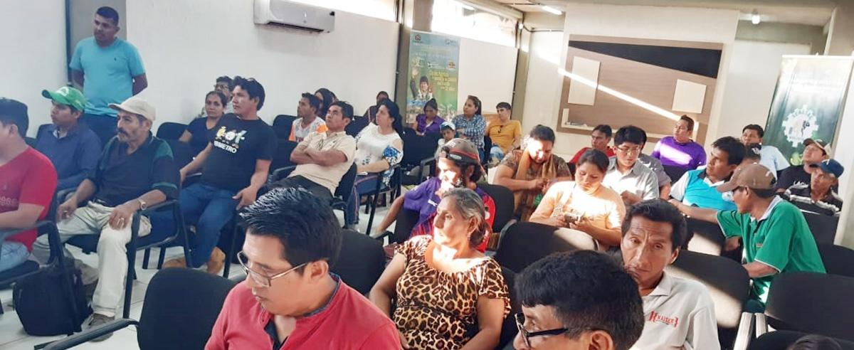 Asociaciones de productores de la Amazonía se pronuncian ante Programas de frutos amazónicos y de cacao del MDRyT