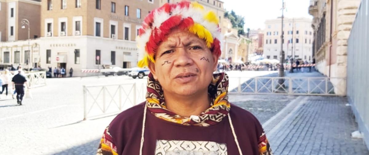 Líder indígena demanda solidaridad con pueblos originarios movilizados en Ecuador