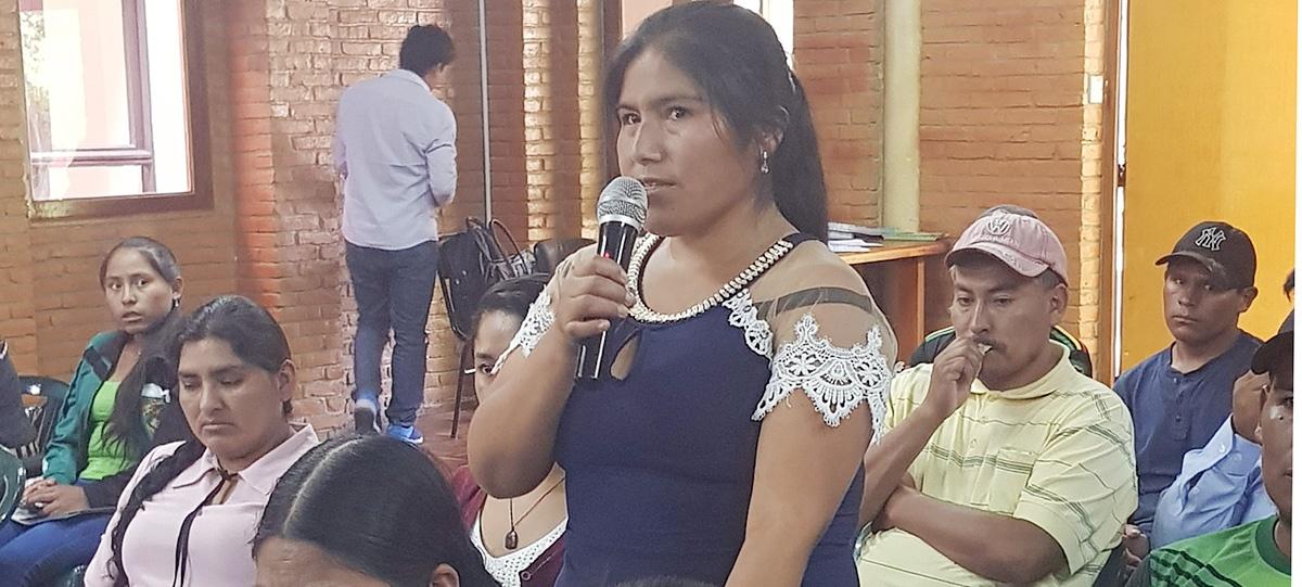 Organizaciones sociales de Norte Potosí y Cochabamba proponen reconstruirse en base a la unidad, principios democráticos y valores