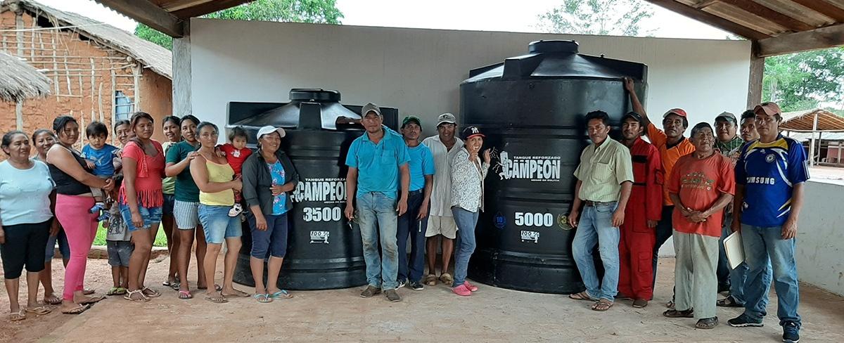 Comunidades indígenas chiquitanas de San Ignacio de Velasco y San Rafael reciben ayuda humanitaria de CIPCA y WWF Bolivia