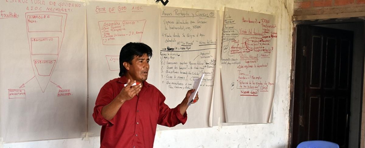 ¡NO al fracking! en Machareti. Anuncio de YPFB puso en alerta al pueblo guaraní