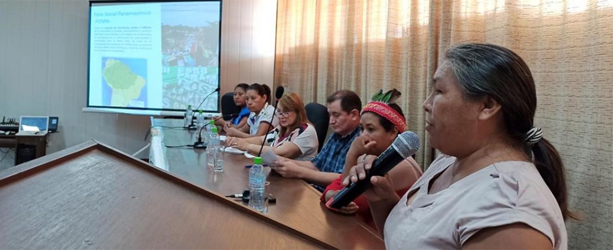 El Norte Amazónico boliviano definió propuestas para la defensa de la Amazonía y la vida en el Pre FOSPA