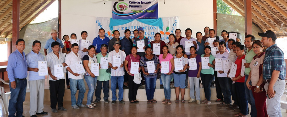Productores de cacao nativo amazónico en sistemas agroforestales certificaron sus conocimientos
