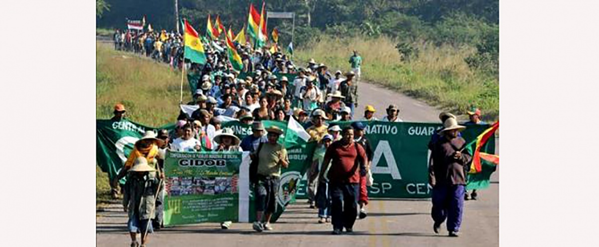 El Estado plurinacional en construcción afecta a los derechos de los pueblos indígenas de las Tierras Bajas de Bolivia