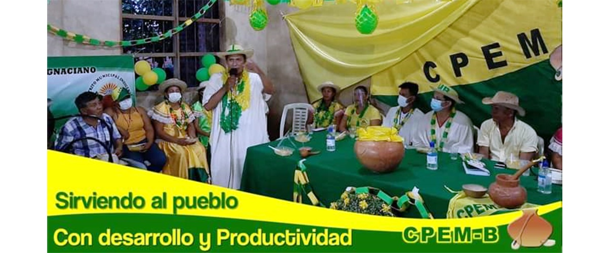 La Central de Pueblos Étnicos Mojeños del Beni se apresta a participar en las elecciones subnacionales 2021