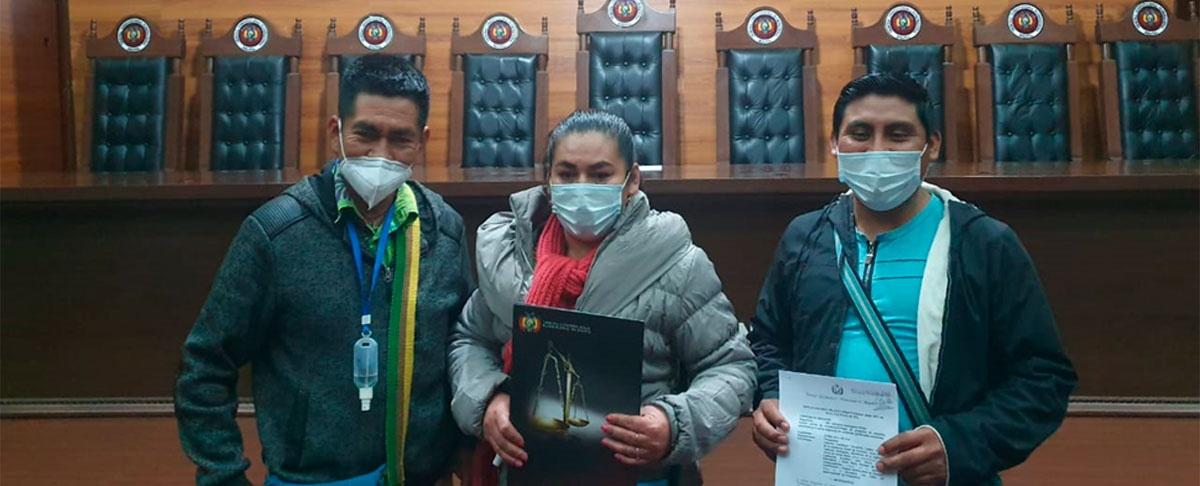 Un gran paso dentro del proceso autonómico de Huacaya