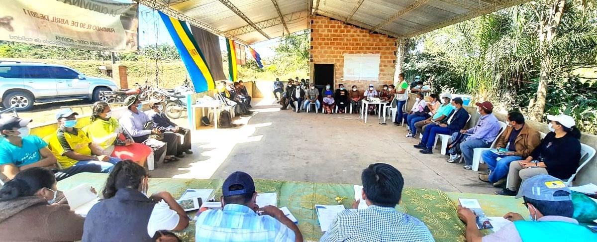 Sector piscícola promueve ley de fomento a la piscicultura ante el Gobierno Municipal El Puente.