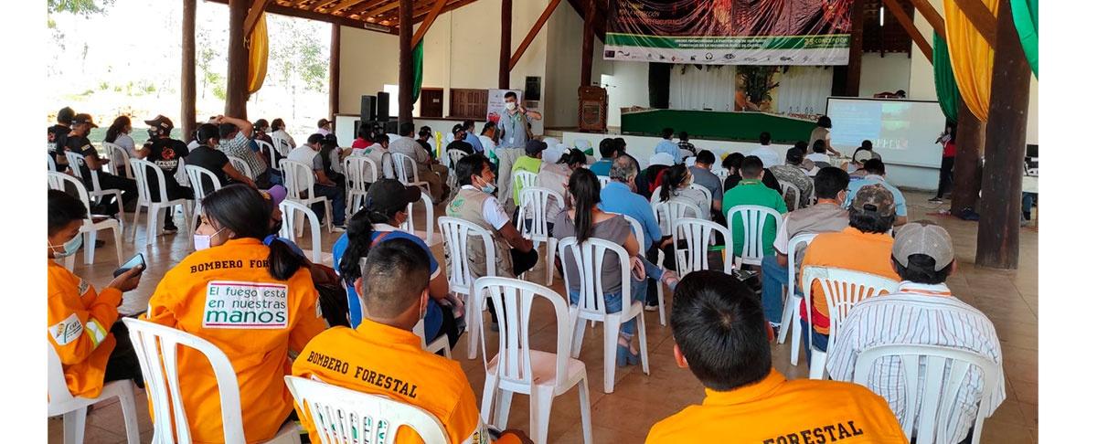 Concertando alianzas en favor de los bosques desde la región chiquitana para hacer frente al cambio climático.