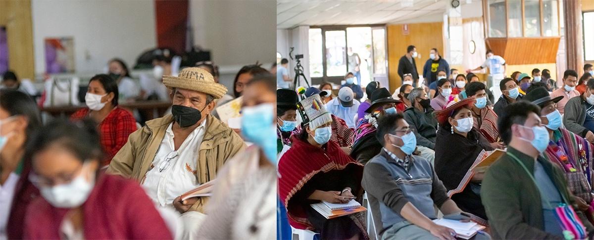 Pueblos indígenas de tierras altas y bajas debaten su agenda de trabajo a nivel nacional.