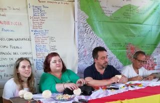 Tribunal Internacional de los Derechos de la Naturaleza realiza la verificación in situ de la demanda en contra del Estado Boliviano por el caso TIPNIS