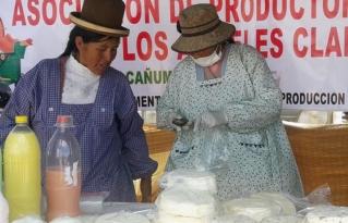 Expo feria municipal de Calamarca  fortalece a las organizaciones  productivas