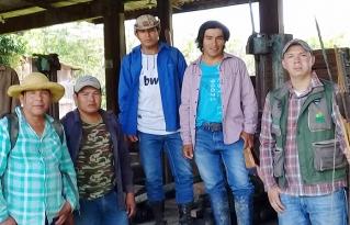 Indígenas del Territorio Multiétnico rumbo a la consolidación su Territorio Ancestral