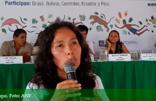 Dirigenta denuncia que en Bolivia está en curso un plan de extinción de los pueblos indígenas