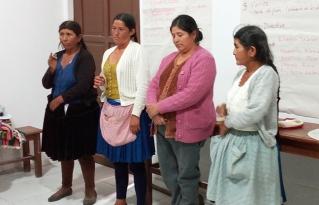 Asociación de Mujeres San Carlos de Málaga del municipio de Anzaldo renovó su directiva
