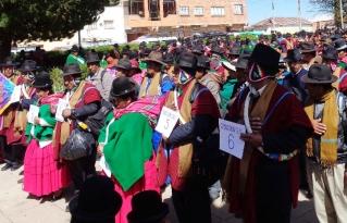 Consejo Ayllus Originarios de Taraqu Marka aprueba su Estatuto Orgánico y Reglamento Interno