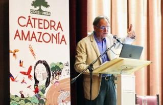 Inició la Cátedra Amazonía con la Conferencia Magistral de Carlos Walter Porto Gonçalves
