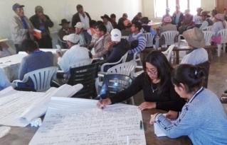 Organizaciones de Pojo plantearon propuestas para el empoderamiento político y económico-productivo de las mujeres