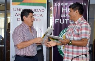 Universidad Amazónica de Pando y CIPCA firman convenio para hacer investigaciones