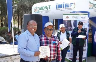 Productoras de Anzaldo logran segundo lugar en concurso de innovación agropecuaria, acuícola y forestal