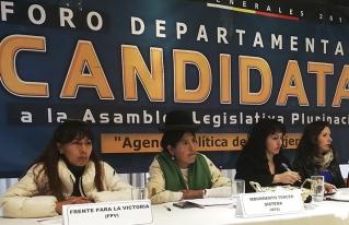 Mujeres rurales exhortan a candidatas a hacer cumplir las políticas públicas favorables a las mujeres