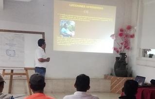 Inició curso especializado en manejo de recursos naturales para la ganadería comunitaria sostenible