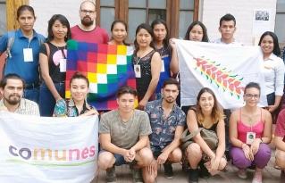 Jóvenes campesinos e indígenas de la Amazonía boliviana participaron en la Cumbre de los Pueblos en el marco de la COP 25