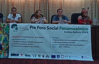 Pre Foro Social Panamazónico: Debemos unirnos para defender la Amazonía de las transnacionales y generar propuestas