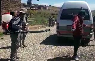 Diversas instancias de municipios rurales de Cochabamba y Potosí trabajan de manera conjunta para hacer frente al COVID-19