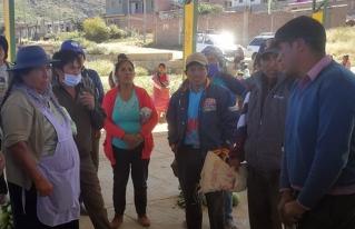 Productores del municipio de Pojo se solidarizan con familias de bajos recursos de la ciudad de Cochabamba