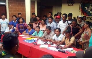 Pronunciamiento de organizaciones sociales de la Amazonía Norte de Bolivia por los derechos de la madre tierra, la vida y la salud