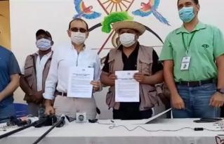 Organización Indígena Chiquitana OICH se pronuncia en contra del convenio firmado entre la CIDOB y la CAO