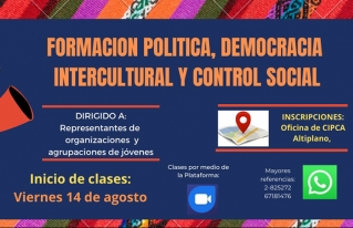 Jóvenes rurales y urbanos de municipios de La Paz y Oruro concluyen programa de formación virtual