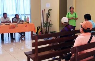 Comunidades campesinas del municipio Puerto Gonzalo Moreno reflexionaron sobre riesgos climáticos, adaptación y resiliencia