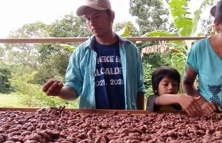 Jóvenes reforestadores del norte amazónico participan de manera exitosa en el Salón del Cacao y Chocolate 2021