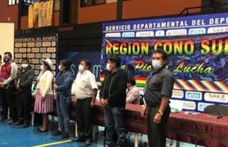 La Coordinadora Regional del Cono Sur de Cochabamba, socializa la Estrategia de Desarrollo Integral del Cono Sur