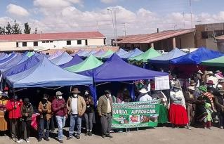 Se realizó feria agroecológica en la Ciudad de El Alto para conmemorar los 50 años de vida CIPCA.