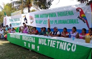 Organizaciones indígenas del Beni articulan sus demandas y se movilizan para exigir el ejercicio de sus derechos.