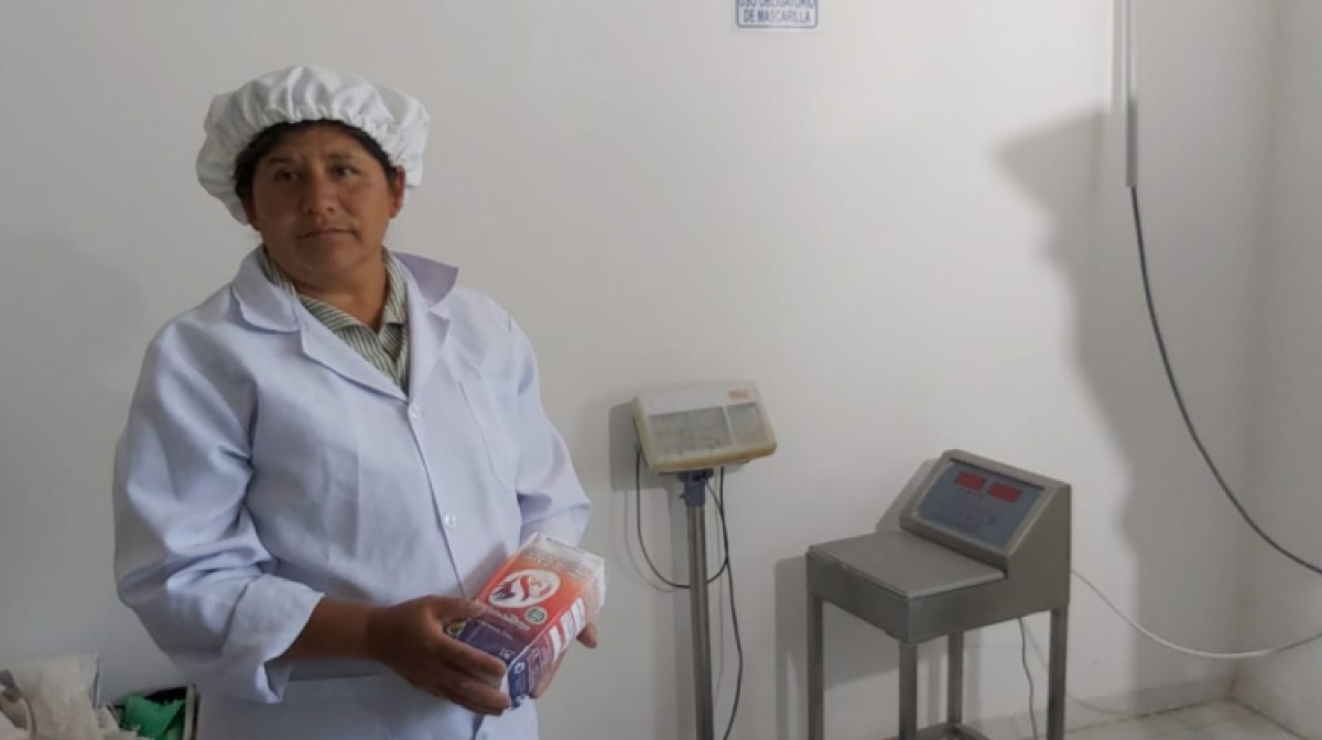 Elaboración de harina fortificada contribuye al empoderamiento económico de mujeres campesinas